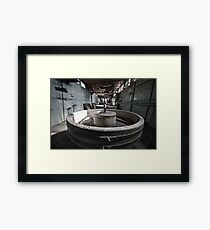 Oi! It's Terrazzo - Not Glass! Framed Print