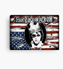 God Save The King Canvas Print