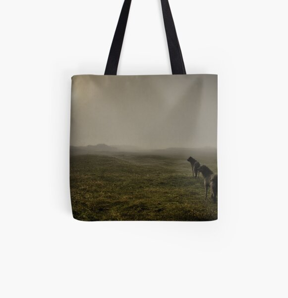 huters in the mist All Over Print Tote Bag