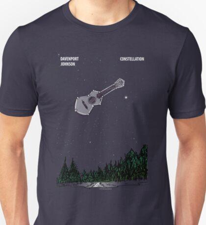 "Davenport Johnson ""Constellation"" Long Image T-Shirt T-Shirt"
