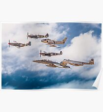 RAAF History Flight Formation Poster