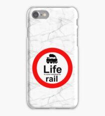 Rail v Life - Marble iPhone Case/Skin