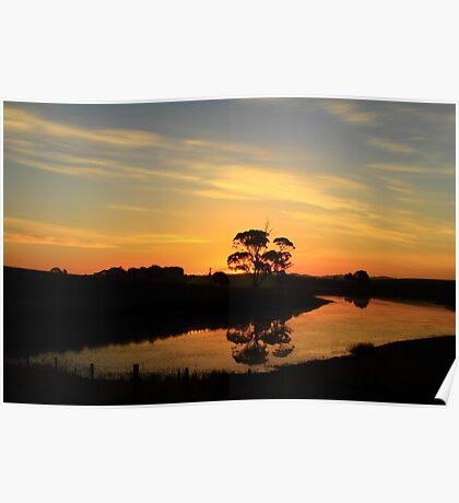 Table Cape Sunset , Wynyard , Tasmania , Australia Poster