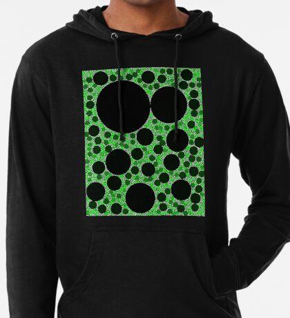 Random Tiling Green Lightweight Hoodie