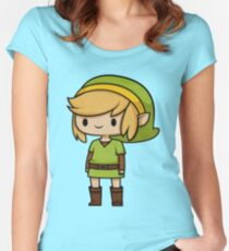 The almighty Link! Women's Fitted Scoop T-Shirt