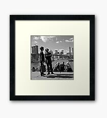 a wonderful morning Framed Print