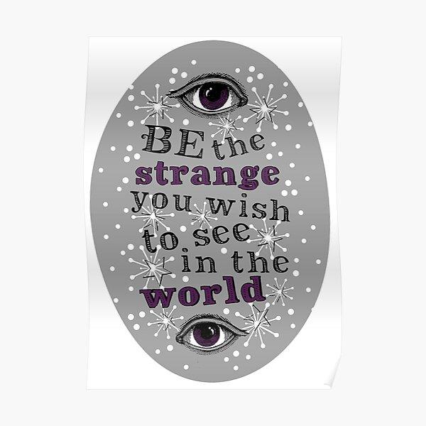 Be The Strange Poster