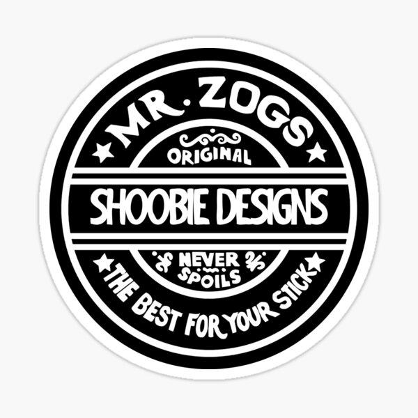 M. Zogs Shoobie Design Sticker