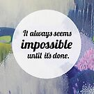 Impossible by ClairBremner