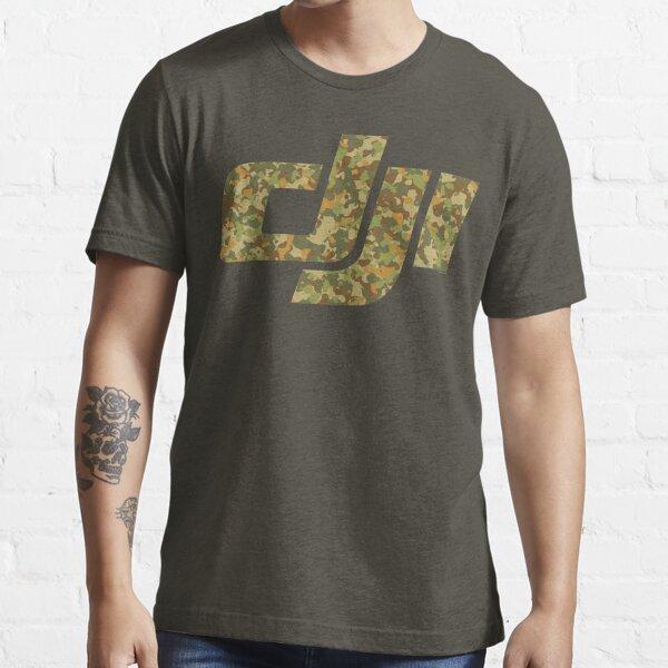 Dji Drone Operator Pilot Photographer Videographer - camouflage Essential T-Shirt