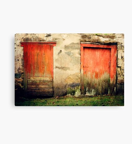 In and Out Canvas Print