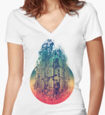 Conception Women's Fitted V-Neck T-Shirt