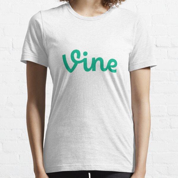 De la nouvelle tendance VINE. T-shirt essentiel