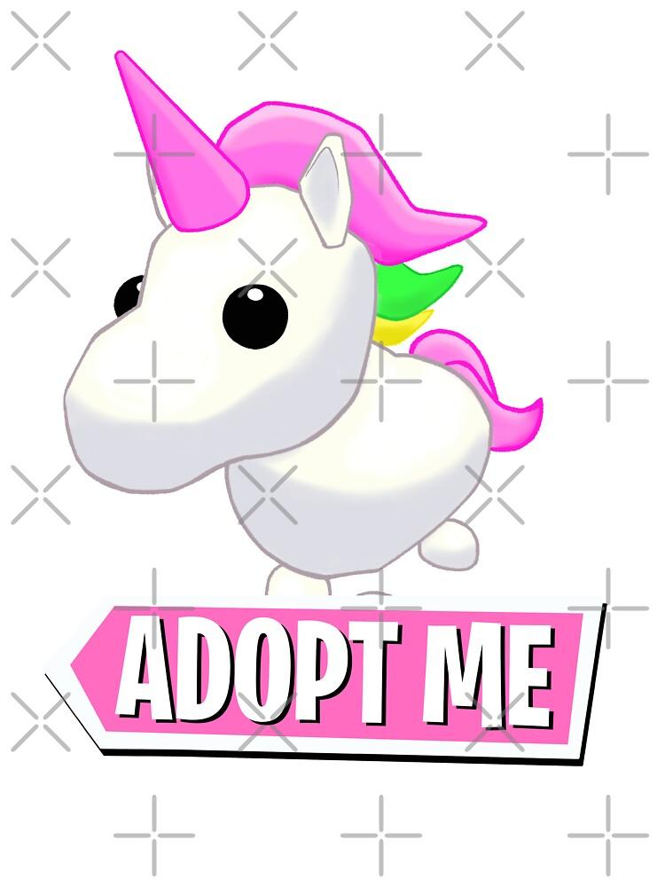 Adopt Me Unicorn Kids T Shirt By Pickledjo Redbubble