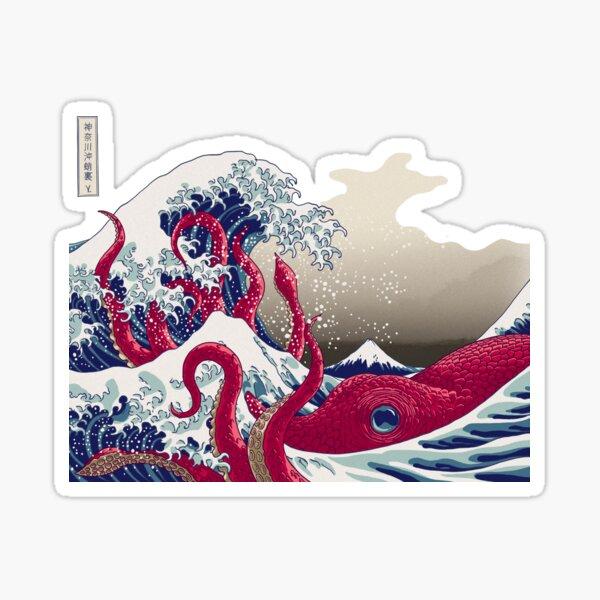 Hoktopusai Sticker