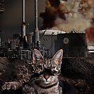 Steampunk Sid Kitten Overlord by Mark Greenmantle