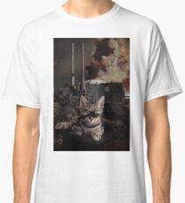 Steampunk Sid Kitten Overlord Classic T-Shirt