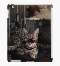 Steampunk Sid Kitten Overlord iPad Case/Skin