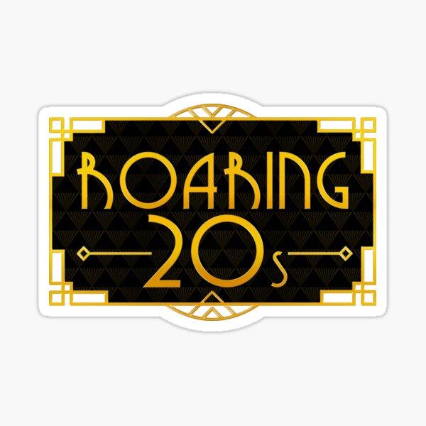 Roaring 20s Sticker