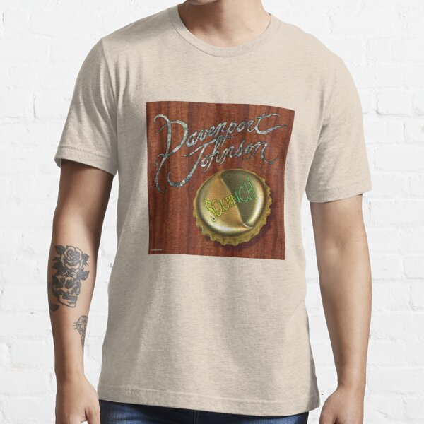 "Davenport Johnson ""SQUINCH"" Cover Essential T-Shirt"