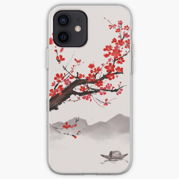 Cherry Blossom Japanese style iPhone Soft Case