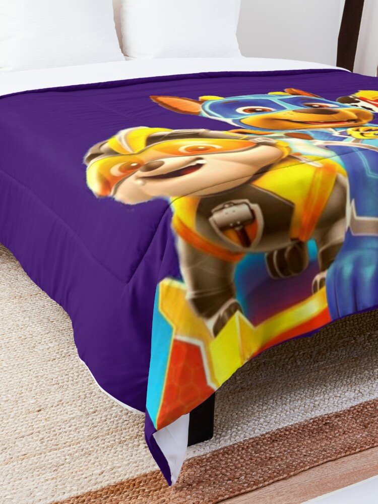 Alternate view of Paw Patrol Mighty Pups Comforter