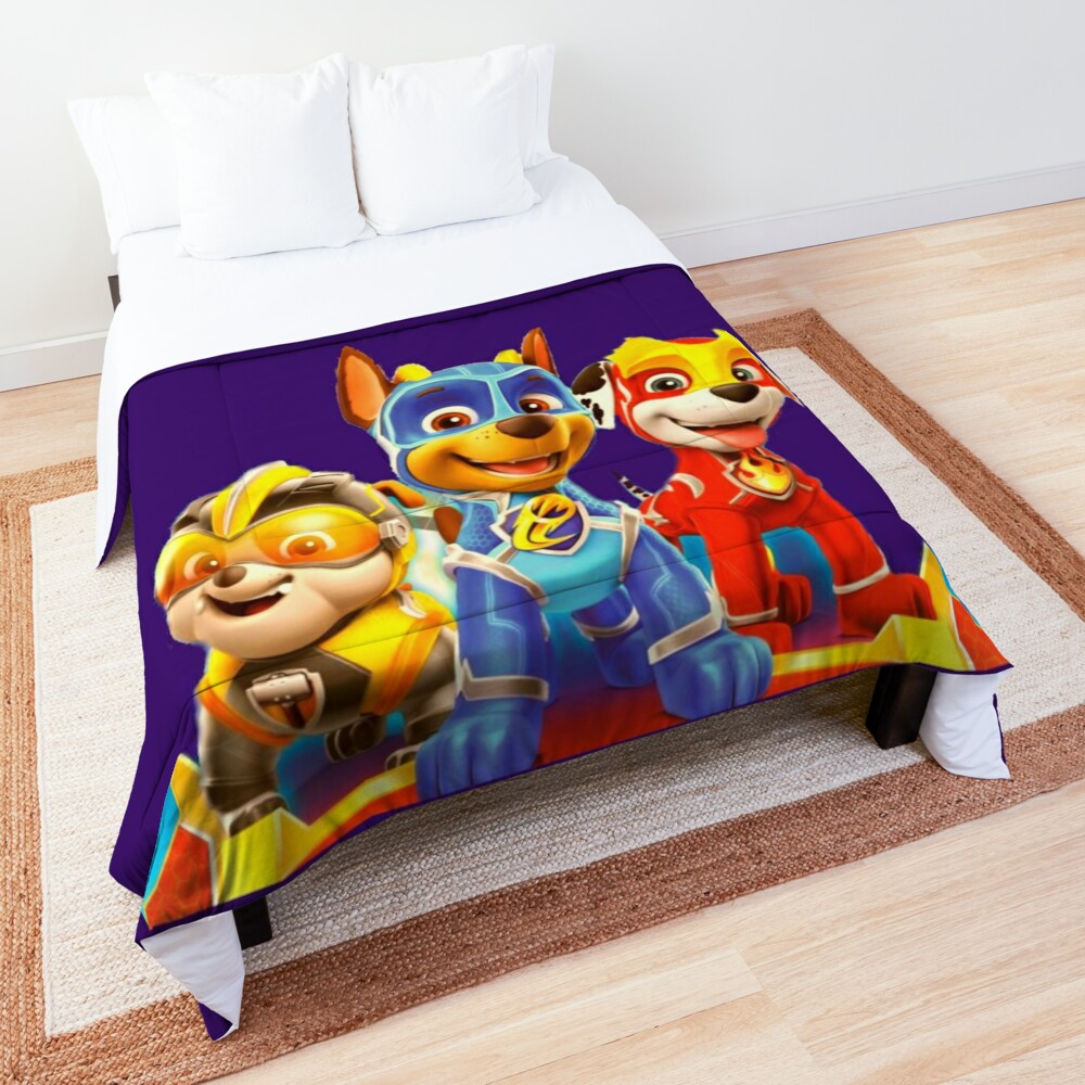 Paw Patrol Mighty Pups Comforter