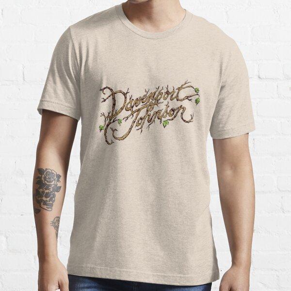 Davenport Johnson Vine LOGO T-Shirt Essential T-Shirt