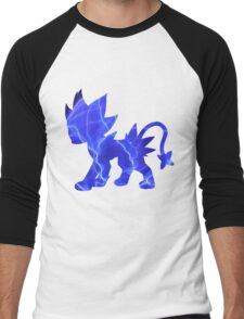 Luxray used discharge Men's Baseball ¾ T-Shirt