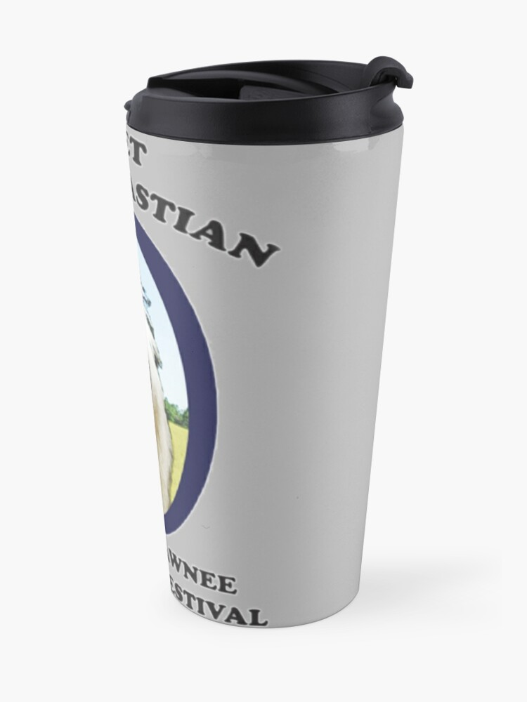 Alternate view of Lil Sebastian Travel Mug