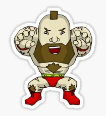 Chibi Zangief Sticker