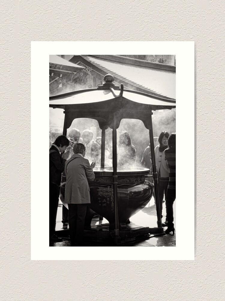 Alternate view of Healed by smoke - Japan Art Print