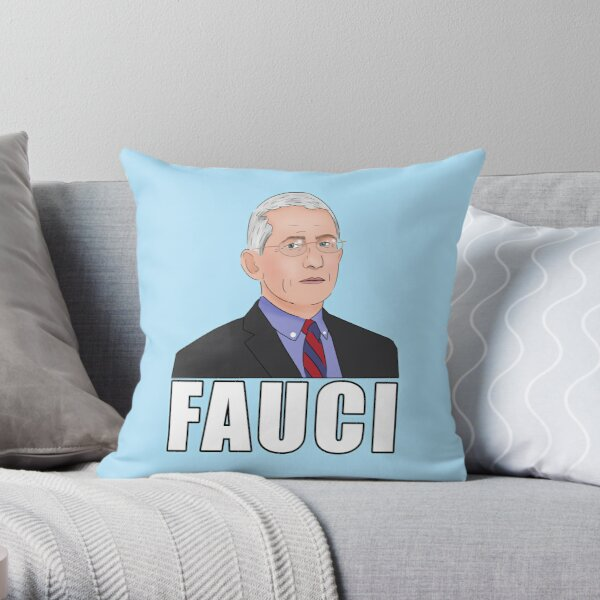 Dr Anthony Fauci Throw Pillow