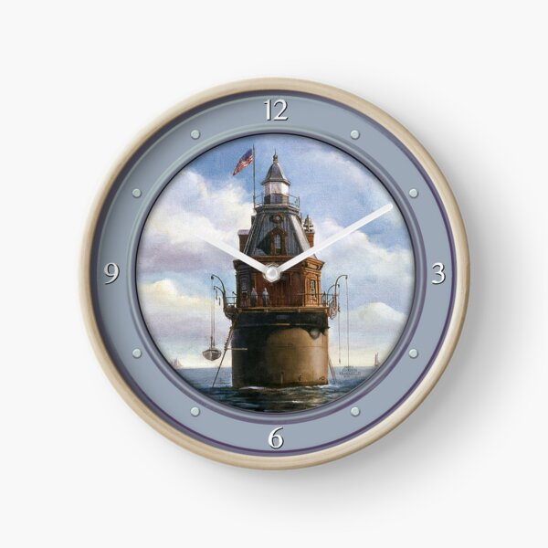 Ship John Shoal Lighthouse Clock