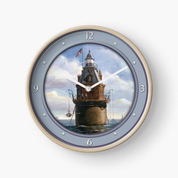 Bateau John Shoal phare Horloge