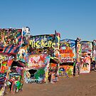 Cadillac Ranch by Pamela Bates