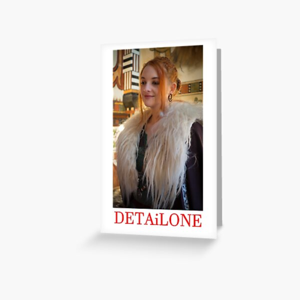 Potrait made by Blunder for Detailone.  Greeting Card