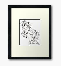 Ribbon Dancer Framed Print