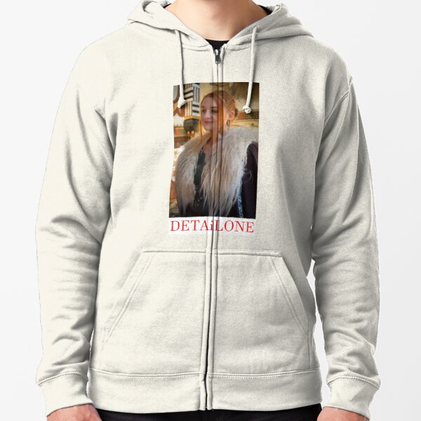 Potrait made by Blunder for Detailone.  Zipped Hoodie