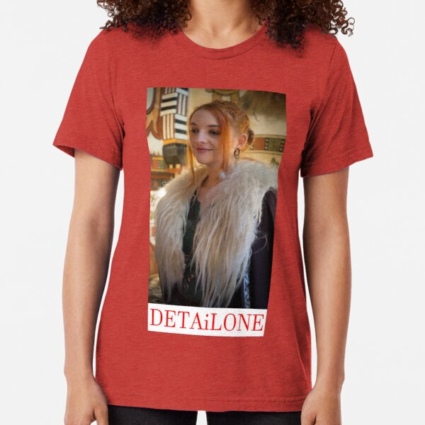 Potrait made by Blunder for Detailone.  Tri-blend T-Shirt