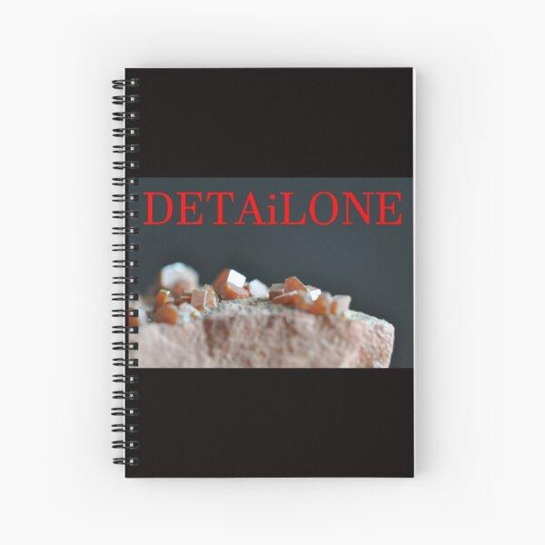 Detailone sticker Spiral Notebook