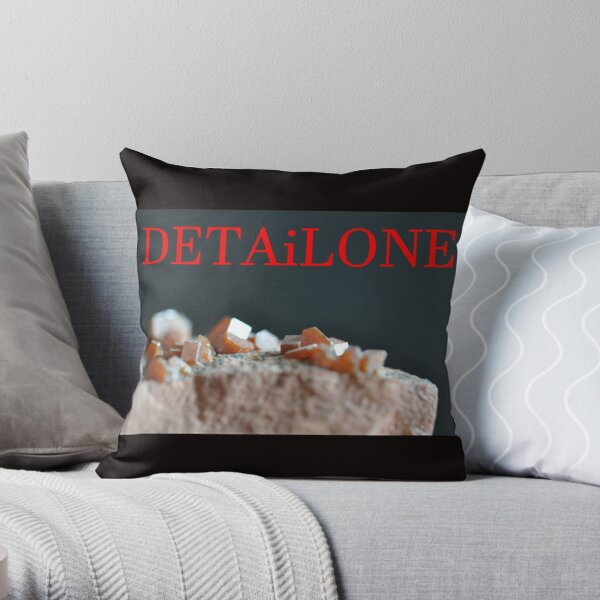 Detailone sticker Throw Pillow