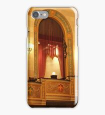 Balcony in Detroit Orchestra Hall in Michigan iPhone Case/Skin