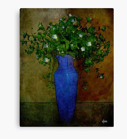 Winter Wildflowers Canvas Print