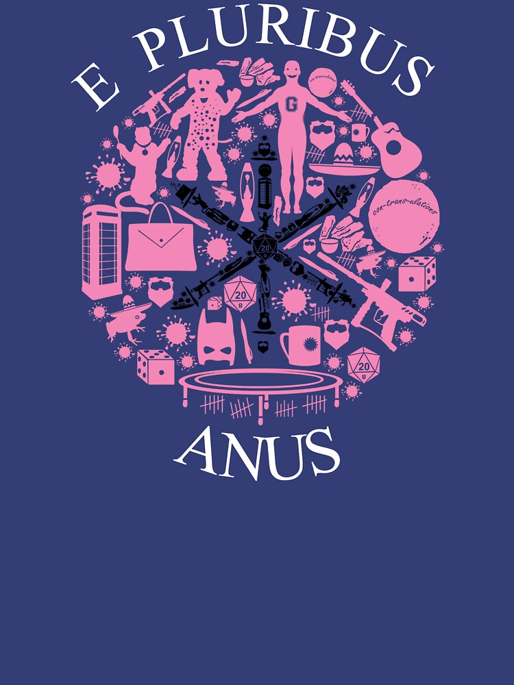 E Pluribus Anus by TomTrager