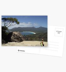 finally - the Wineglass Bay lookout Postcards