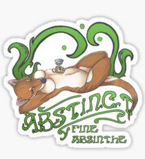 Abstinct Sticker