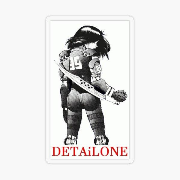 Battle Angel Alita for Detailone Transparent Sticker