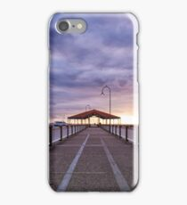 Redcliffe Jetty by Morning iPhone Case/Skin