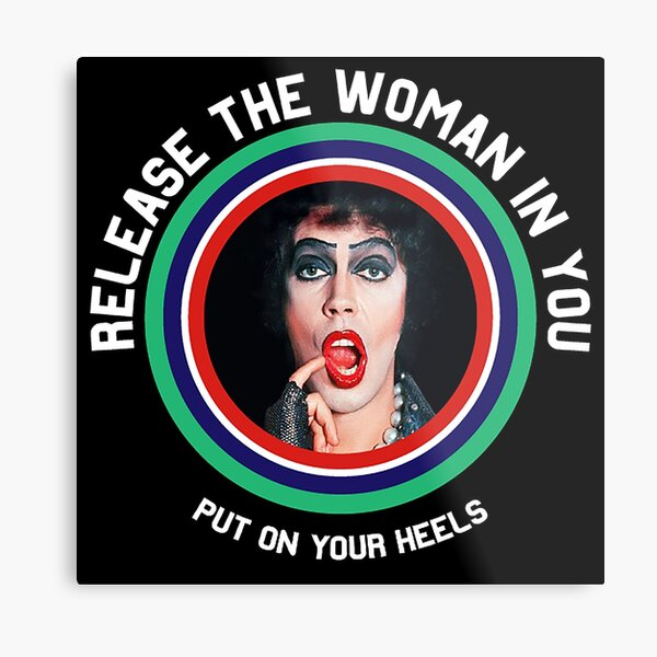 Drag Queen shirt - Drag Queen Trans Gifts - Drag Artist t shirt - Trans t-shirt - Tranny Metal Print